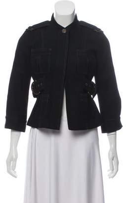 Smythe Belted Wool Jacket