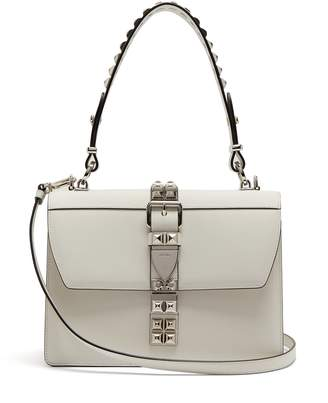 Prada Elektra stud-embellished leather bag