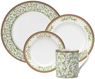 ... Mikasa Holiday Traditions 32 Piece Dinnerware Set with Mugs  sc 1 st  ShopStyle & Mikasa Fine China - ShopStyle