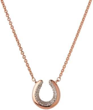 Links of London Ascot De Horseshoe Rose Gold Necklace