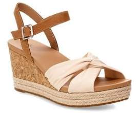 UGG Joslyn Cork Espadrille Wedge Sandals