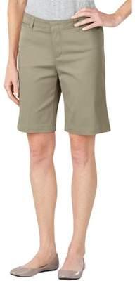 "Dickies Women's 10"" Stretch Twill Shorts"
