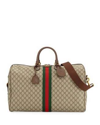 4301d4236e9c Gucci Men's Ophidia GG Supreme Duffel Bag