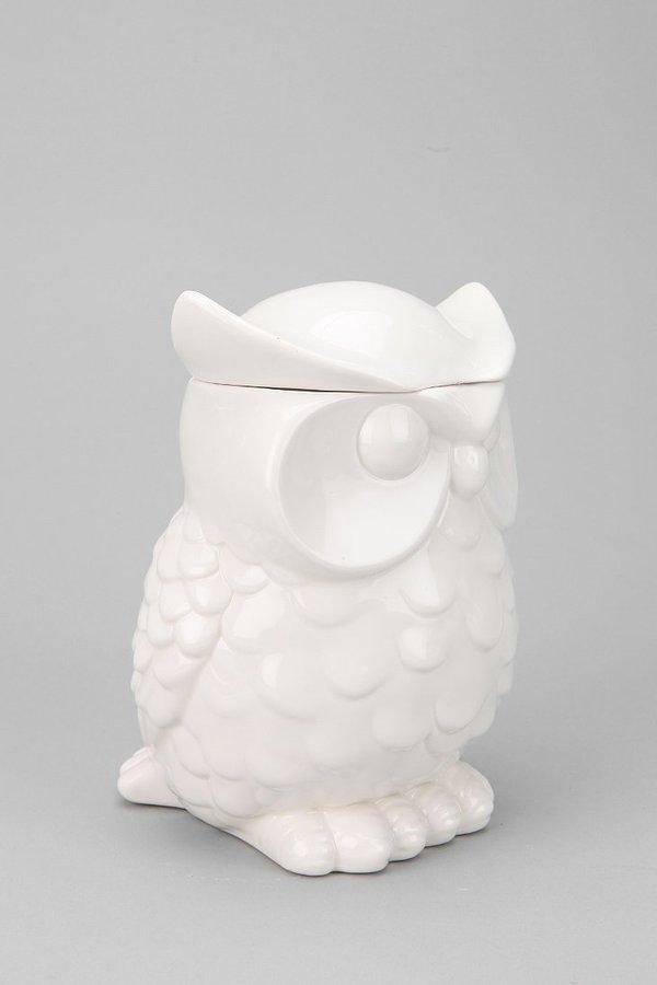 UO Owl Cookie Jar