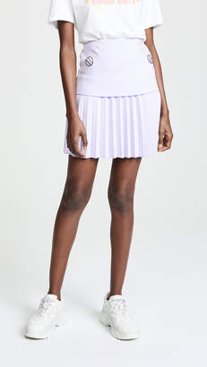 Dion Lee Pleated Mini Skirt