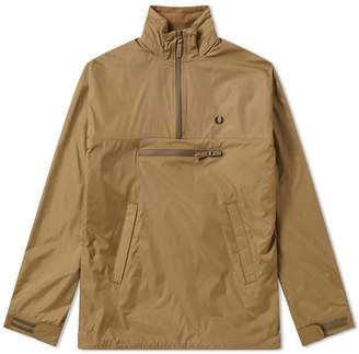 Fred Perry Authentic Half Zip Hooded Jacket