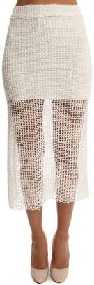 IRO Denis Netted Midi Skirt