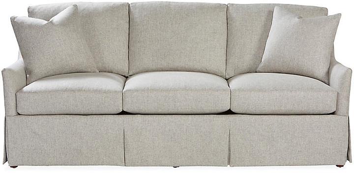 Cyrus Skirted Sofa - Ash - Massoud Furniture