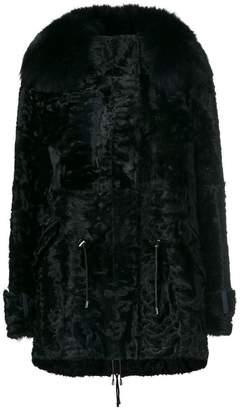 Yves Salomon trim coat
