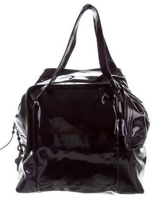 Salvatore Ferragamo Patent Leather Large Tote