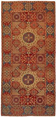 "Fly London ABC Home Woven Legends Turkish Sardis Rug - 4'9""x10'2"""