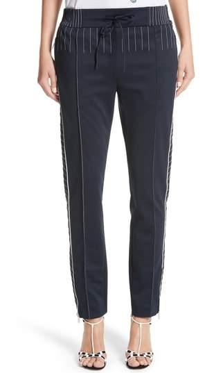 Techno Stretch Jersey Track Pants