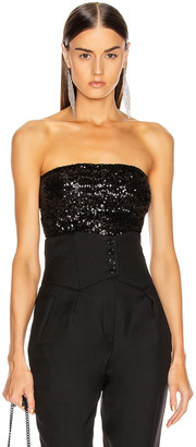 Andamane ANDAMANE Britney Strapless Top in Black | FWRD