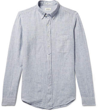 Hartford Sander Slub Linen Shirt