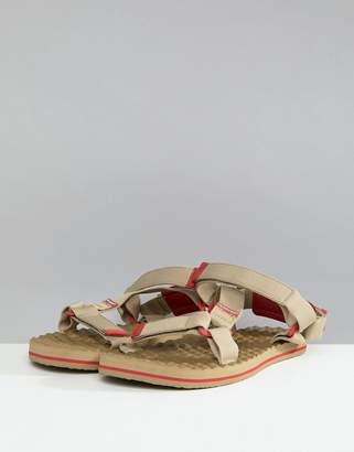 The North Face Base Camp Switchback Sandals in Tan/Red