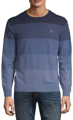 U.S. Polo Assn. USPA Crew Neck Long Sleeve Pullover Sweater