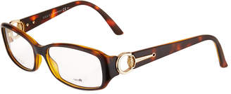 Gucci Tortoise Rectangle Fashion Glasses