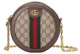 Gucci Women's Ophidia Mini GG Round Shoulder Bag - Beige Chocolate