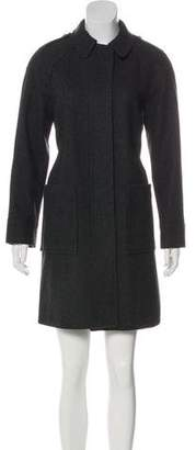 See by Chloe Collared Wool Coat
