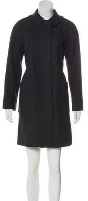 See by Chloe Collared Wool Coat