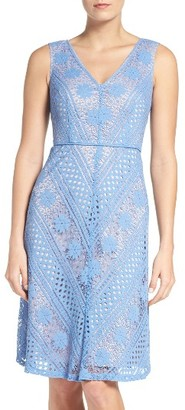 Women's Adrianna Papell Fit & Flare Dress $160 thestylecure.com