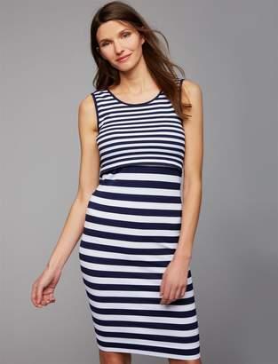 Ripe Pull Over Mock Layer Nursing Dress