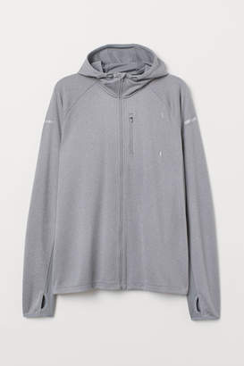 H&M Hooded Running Jacket - Gray