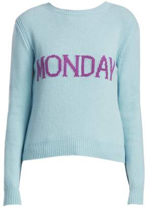 Alberta Ferretti Rainbow Week Capsule Days Of The Week Monday Sweater