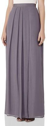 REISS Manhattan Maxi Skirt $275 thestylecure.com