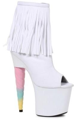 Storybook/Fairytale Prince Unicorn Fringe Heel Boot