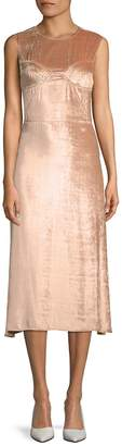 Tome Women's Picasso Velvet Midi Dress