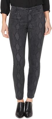 NYDJ Ami High Waist Welt Pocket Ankle Skinny Jeans