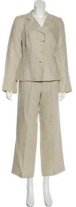 Akris Wool Gabardine Suit