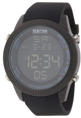 Kenneth Cole Reaction Men's Digital Quartz Watch, 50mm