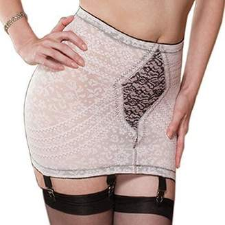 Rago Women's Extra Firm Shaping Open Bottom Fashion Girdle
