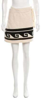Isabel Marant Knit Wrap Skirt