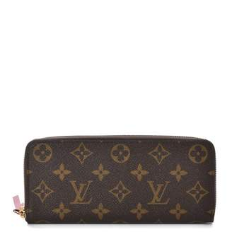 Louis Vuitton Wallet Clemence Monogram Fuchsia