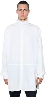 Jil Sander Sintonia Boxy Extended Fit Cotton Shirt