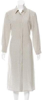 Jenni Kayne Printed Silk Shirtdress w/ Tags