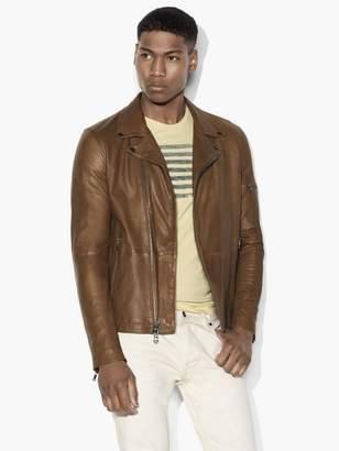 Asymmetric Leather Moto Jacket $798 thestylecure.com