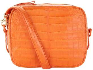Nancy Gonzalez Crocodile Camera Bag