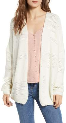 DREAMERS BY DEBUT Open Stitch Cardigan