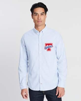 Tommy Hilfiger Shirts Stripe - ShopStyle Australia 616fe2f01