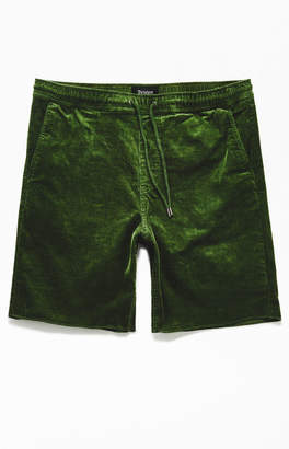 Brixton Green Madrid II Corduroy Shorts