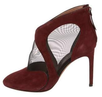 Alaia Pointed-Toe Ankle Boots