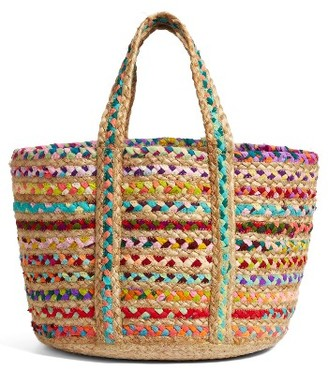 Shiraleah Mirabel Woven Tote - Black $58 thestylecure.com