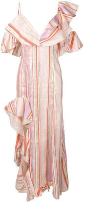 Maria Lucia Hohan Charlotte striped maxi dress