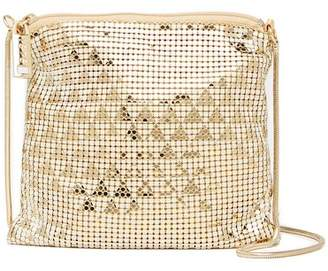 Whiting & Davis Deco Triangles Crossbody Bag