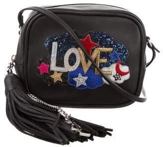 Saint Laurent 2016 Love Patch Mini Blogger Crossbody Bag