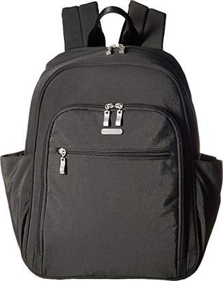 Baggallini Essential Laptop Backpack with RFID Messenger Bag